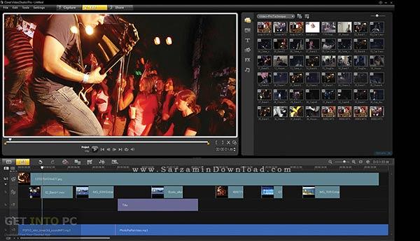 نرم افزار تدوین فیلم corel video studio