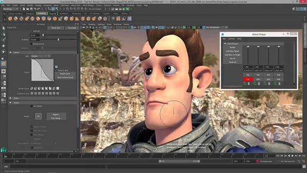 نرم افزار ساخت انیمیشن Autodesk-Maya
