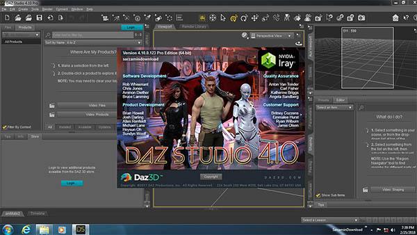 نرم افزار ساخت انیمیشنDAZ.Studio.Pro
