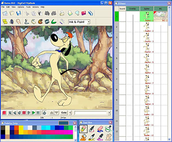 نرم افزار ساخت انیمیشن DigiCel-FlipBook