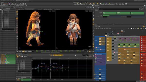 نرم افزار ساخت انیمیشن houdini