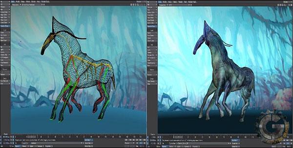 نرم افزار ساخت انیمیشن LightWave 3D