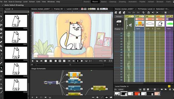 نرم افزار ساخت انیمیشن open-tonz