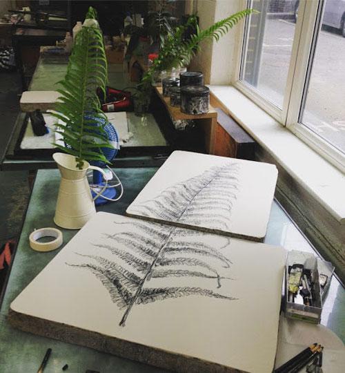 لیتوگرافی یا چاپ روی سنگ