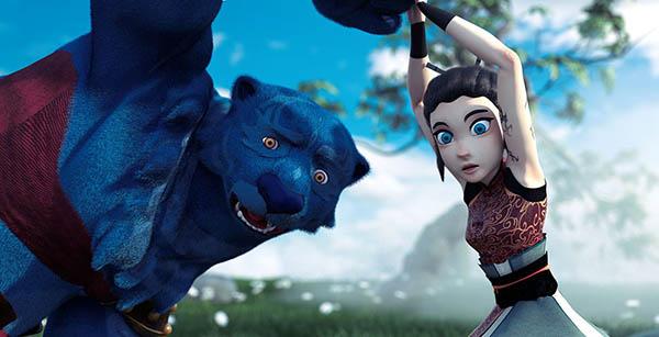 نقش محیط در طراحی شخصیت و انیمیشن