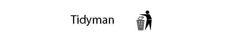 نماد tidyman