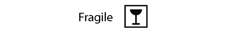 نماد fragile