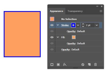 ویژگی های Graphic Styles