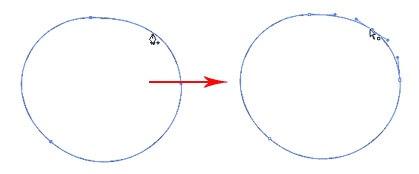 افزودن نقاط Anchor Points