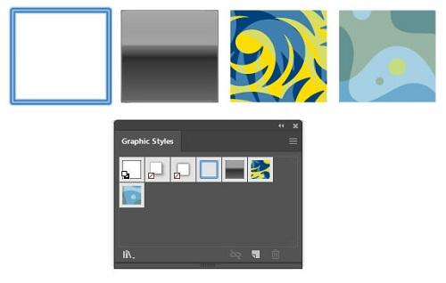استفاده از Graphic Styles