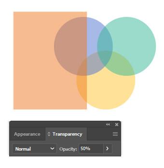 افزودن Transparency