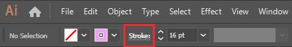 تنظیمات Stroke