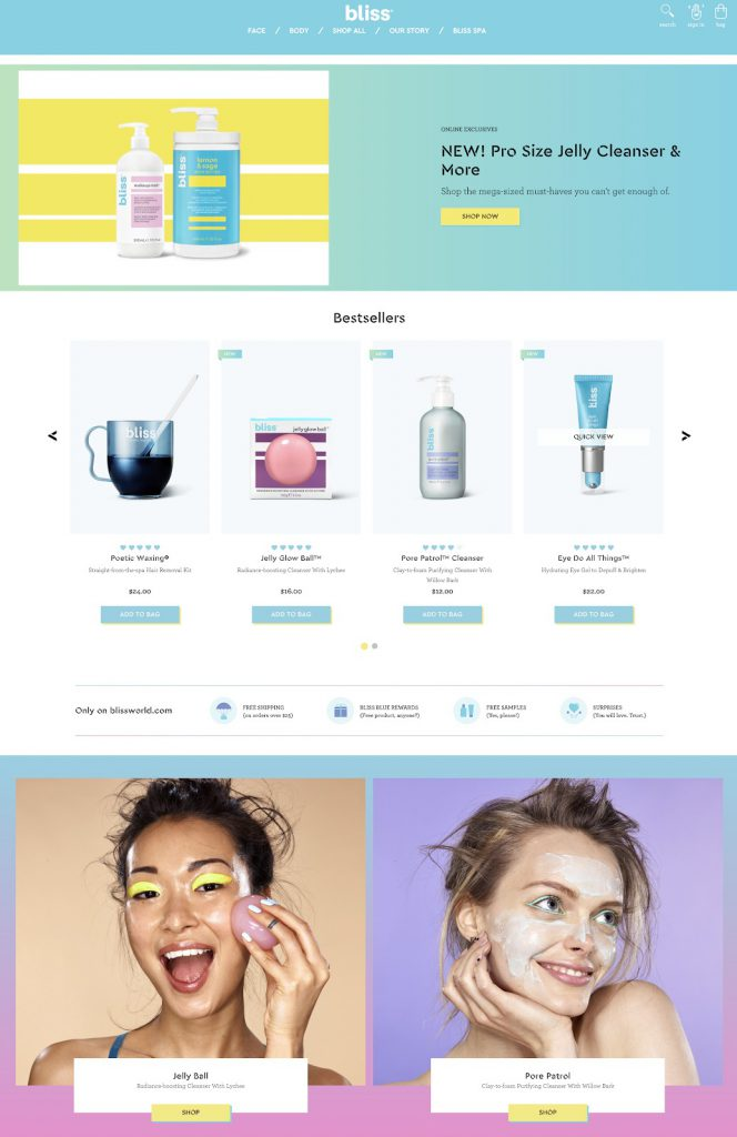 نامزد بهترین طراحی وب سایت فروشگاهی به طور کلی