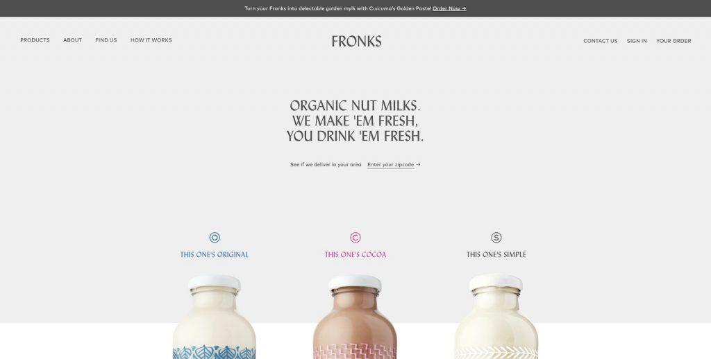 نامزد بهترین طراحی صفحه اصلی فروشگاهی اینترنتی