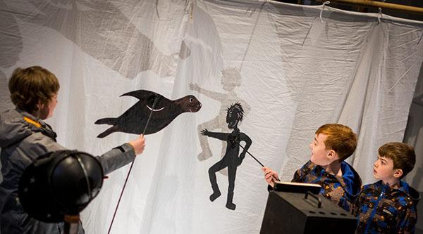 نمایش عروسکی کودکان در فستیوال نمایش عروسکی اسکاتلند