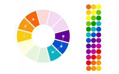 نحوه انتخاب رنگ مناسب برای سایت