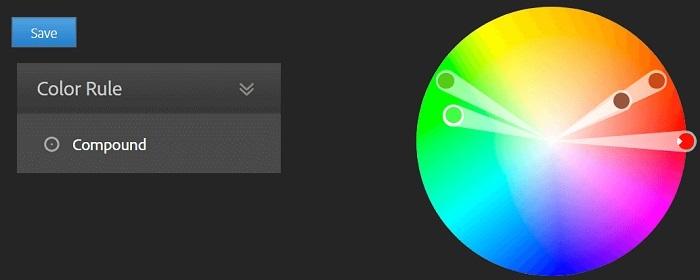 در انتخاب رنگ برای سایت رنگ های مشابه با رنگ اصلی خود را پیدا کنید