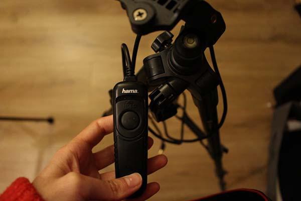 دکمه کنترل نور در نورپردازی استاپ موشن