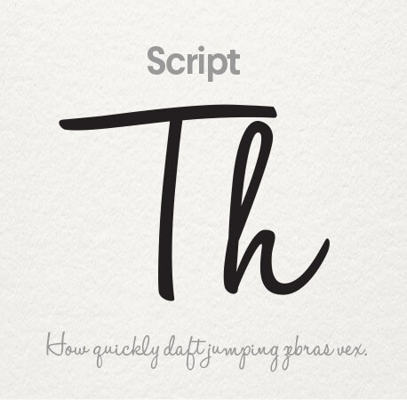 فونت Script