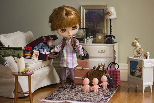 منظم بودن دکور در عکاسی از عروسک
