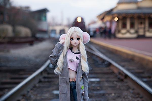 هماهنگی رنگ در عکاسی از عروسک