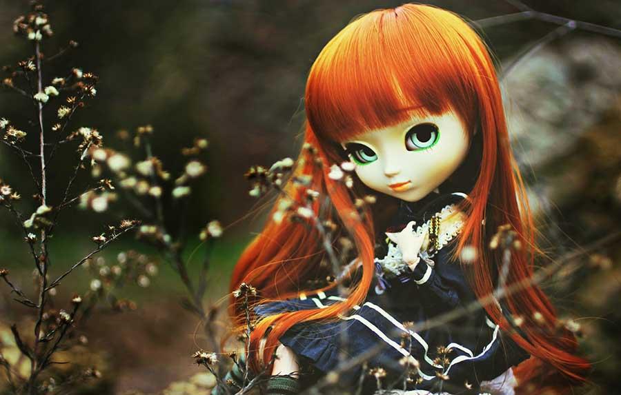 عکاسی کلوزآپ از عروسک