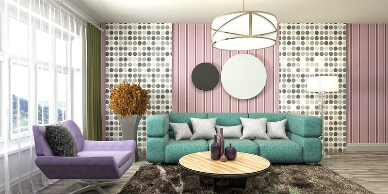 رنگ های پاستلی در دکوراسیون منزل