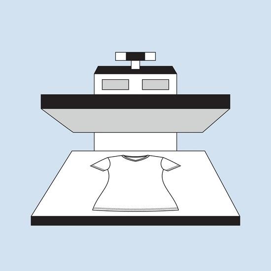 چاپ تیشرت به روش برش وینیل