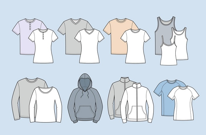 انتخاب نوع پارچه و پیراهن