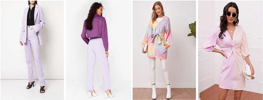 ست کردن رنگ های پاستلی در لباس