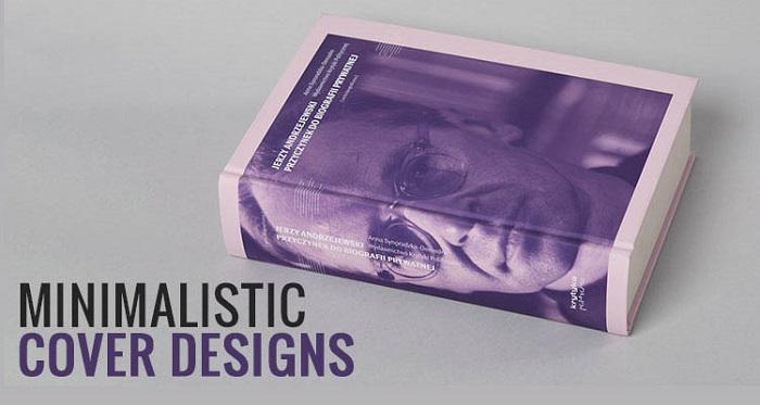 طراحی مینیمالیستی از روند های طراحی جلد کتاب