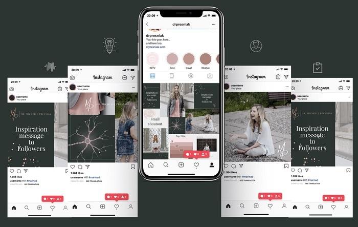 طراحی صفحه شبکه های اجتماعی