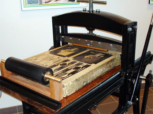 چاپ لیتوگرافی