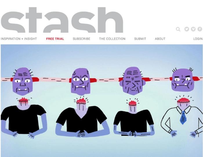 Stash Media سایت ایده انیمیشن