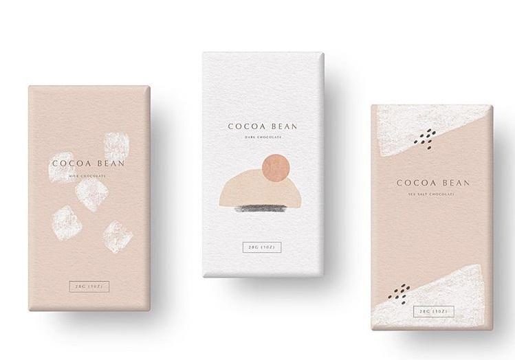 طراحی مینیمال بسته بندی مواد غذایی