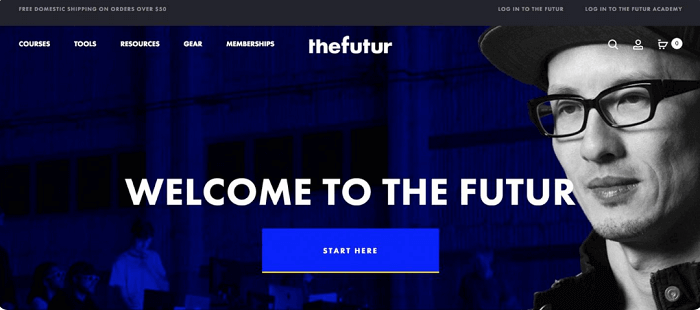 The Futur سایت ایده انیمیشن