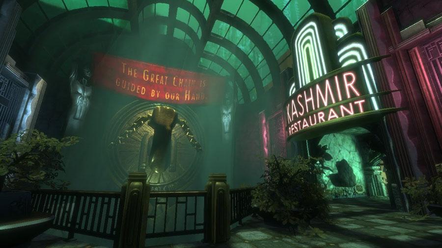 Rapture – BioShock - بهترین طراحی بازی