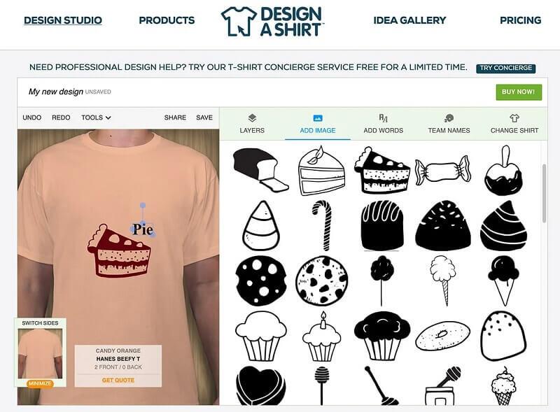 نرم افزار Design a Shirt
