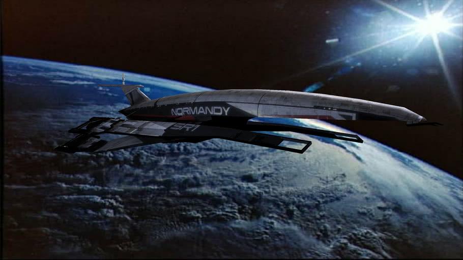 The Normandy – Mass Effect - بهترین طراحی بازی