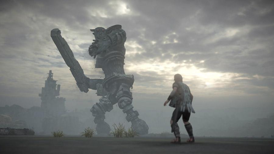 The Colossi – Shadow of the Colossus - بهترین طراحی بازی