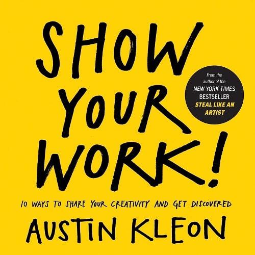 کتاب طراحی گرافیک Show Your Work!