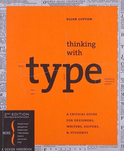 کتاب طراحی گرافیک Thinking with Type