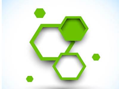نمونه ای از شش ضلعی در طراحی