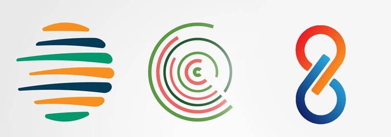 کلاسیک ترین اشکال در طراحی، دایره ها و بیضی ها هستند.