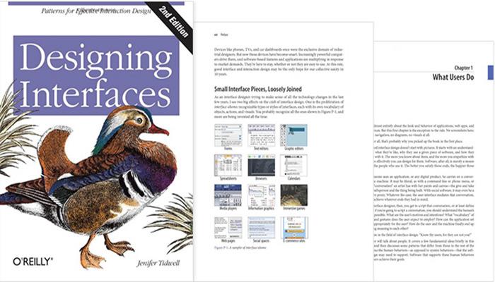 Designing Interfaces (نویسنده: جنیفر تیدول)