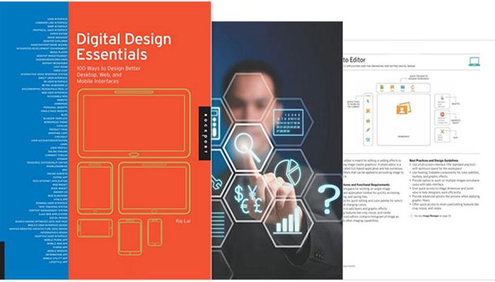 کتاب طراحی UI: Digital Design Essentials (نویسنده: راجش لعل)