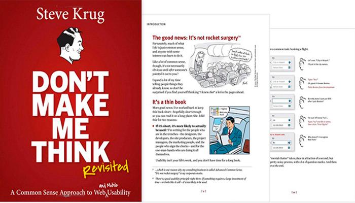 کتاب طراحی UI: Don't Make Me Think, Revisited