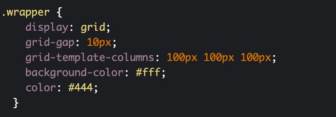 استفاده از grid-template-columns