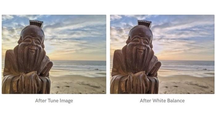 تنظیم نور سفید در عکس