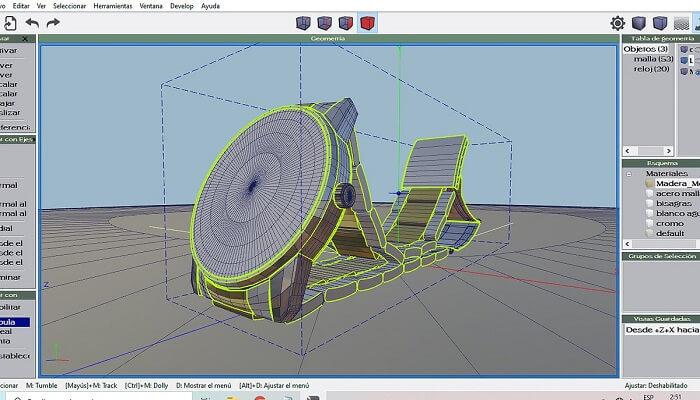 برنامه طراحی Wings3D